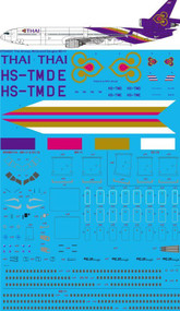 1/144 Scale Decal Thai Final McDonnell Douglas MD-11