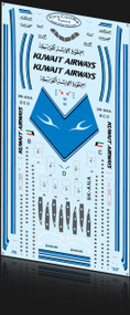 1/144 Scale Decal Kuwait A-340