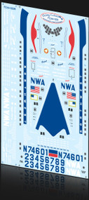 1/144 Scale Decal Northwest Strotocruiser