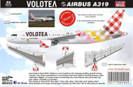 1/144 1/200 1/400 1/500 Scale Decal Volotea A-319