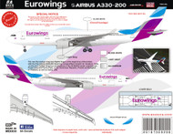 1/144 Scale DecalEurowings A330-200