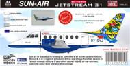 1/72 Scale Decal British Airways BAE JETSTREAM