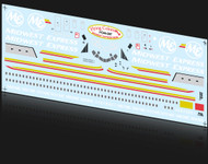 1/144 Scale Decal Midwest Express MD-80