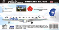 1/144 Scale Decal ALASKA 2015 ERJ-175