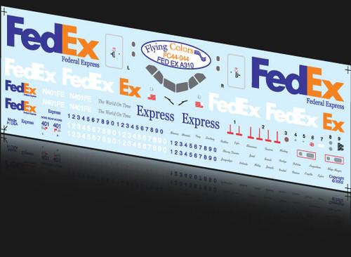 1/144 Scale Decal FedEx A-310