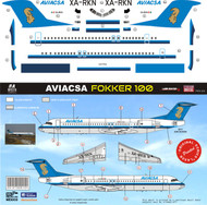1/144 Scale Decal Aviacsa F-100