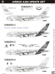 1/144 Scale Decal A-380 Update Set
