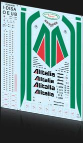 1/144 Scale Decal Alitalia 777