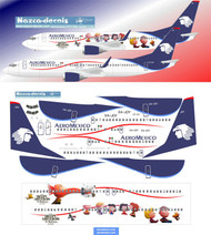 1/144 Scale Decal Aeromexico B737-800 SNOOPY