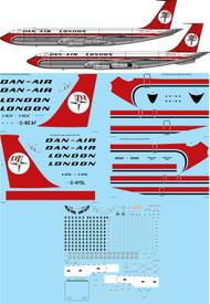 1/172 Scale Decal Dan Air London 707-321/321C
