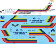 1/144 Scale Decal Ecuatorian Jet Cargo 707-321C