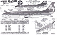 1/144 Scale Decal Aer Lingus 737-400 / 500