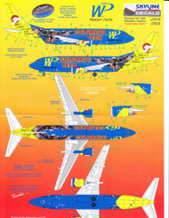 1/200 Scale Decal Western Pacific 737-300 Colorado Tech