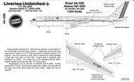 1/144 Scale Decal Asiana 767-300
