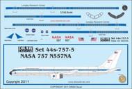 1/144 Scale Decal NASA 757-200