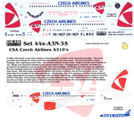1/144 Scale Decal CSA A-319