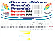 1/200 Scale Decal Airtours / Premiair / Skyservice USA DC-10