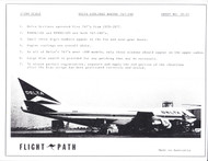 1/200 Scale Decal Delta Airlines 747-100
