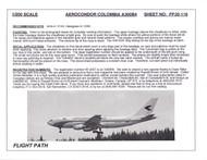 1/200 Scale Decal Aerocondor Columbia A300-B4