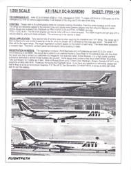 1/200 Scale Decal ATI DC9-30 / MD-80