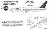 1/200 Scale Decal USAir 767-200ER