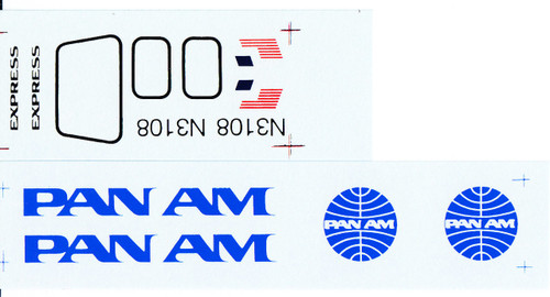 1/72 Scale Decal Pan Am Express BAe Jetstream 31