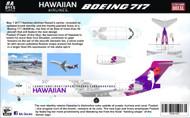 1/144 Scale Decal Hawaiian Air B-717 2017