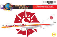 1/144 Scale Decal Sun Country DC10-15