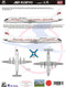 1/144 Scale Decal Air Koryo IL-18 2017