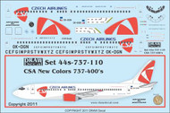 1/144 Scale Decal CSA 737-400