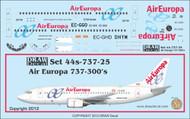 1/144 Scale Decal Air Europa 737-300
