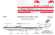 1/200 Scale Decal Martinair DC-10 / MD-11
