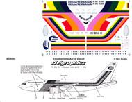1/144 Scale Decal Ecuatoriana A-310