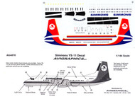 1/144 Scale Decal Simmons YS-11