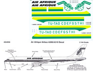 1/144 Scale Decal Air Afrique A-300 / A-310