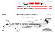 1/144 Scale Decal Airborne Express DC-9