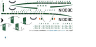 1/144 Scale Decal Aer Lingus Super Constellation