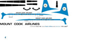 1/144 Scale Decal Mount Cook HS-748
