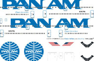 1/144 Scale Decal Pan Am 747 Billboard