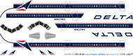 1/144 Scale Decal Delta DC-10