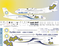 1/144 Scale Decal Dutch Antilles Express ATR-42