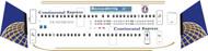 1/144 Scale Decal Colgan Air / Continental Express Dash 8-400