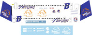 1/144 Scale Decal Horizon Dash 8-400 Boise State Broncos