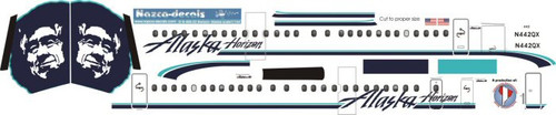 1/144 Scale Decal Horizon - Alaska Dash 8-400