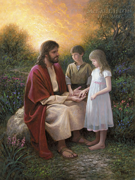 Religious Religious No Greater Love Mcnaughton Fine Art