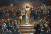 One Nation Under God 24 X 36 LE Signed & Numbered - Giclee Canvas