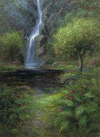 Garden of Eden 13.5 x 24 LE Signed & Numbered - Giclee Canvas