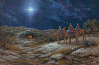 Star of Bethlehem 20x30 LE Signed & Numbered - Giclee Canvas