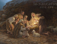 The Nativity 16x24 LE Signed & Numbered - Giclee Canvas