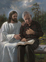 Touched by the Scriptures 16x20 LE Signed & Numbered - Giclee Canvas